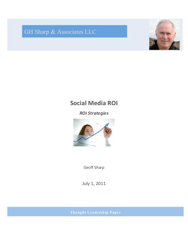 GH Sharp & Associates LLC                                                                               Social...
