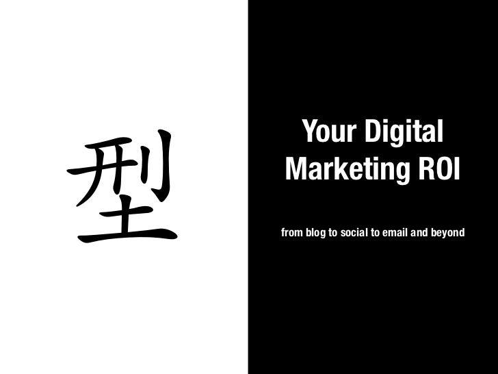 Digital Marketing ROI at Blogworld NYC