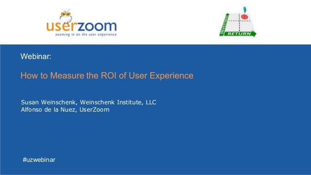 How to Measure the ROI of User Experience