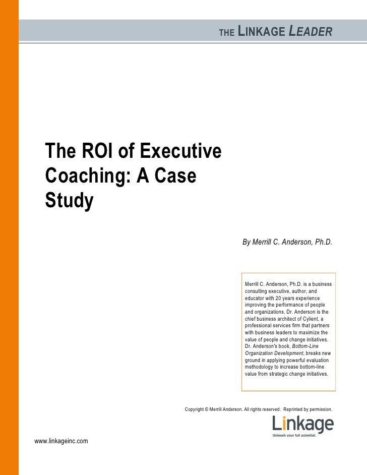 Roi On Coaching