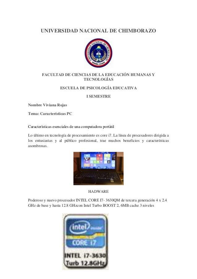UNIVERSIDAD NACIONAL DE CHIMBORAZO  FACULTAD DE CIENCIAS DE LA EDUCACIÓN HUMANAS Y TECNOLOGÍAS ESCUELA DE PSICOLOGÍA EDUCA...