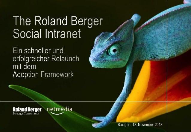 Das Social Intranet von Roland Berger