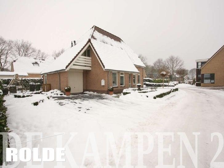 Rolde, De Kampen 2 (Verkoopbrochure), zij is de makelaar, woningaanbod, Rolde, comfort en rust, ruim vrijstaand, huis in Drenthe, huis gezocht in Drenthe