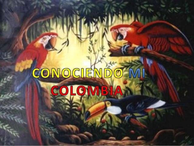 Conozco mi Colombia