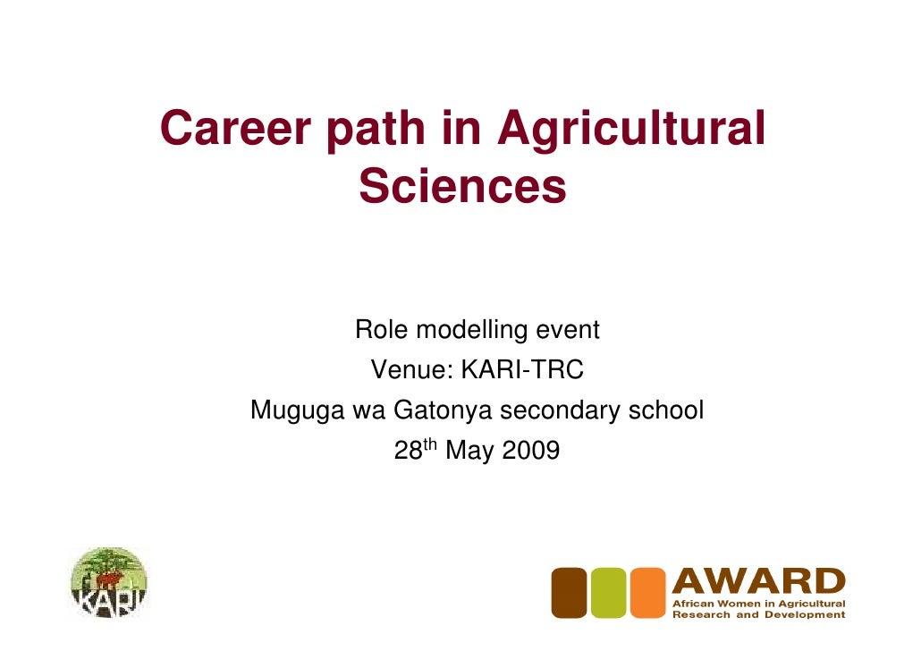 Role Modelling Trc Muguga Wa Gatonye