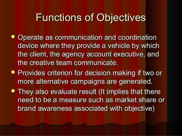 Role of advertising in marketing program