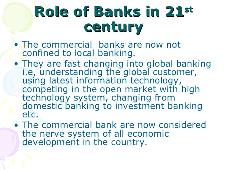 Essay on the Role of Banks in Economic Development