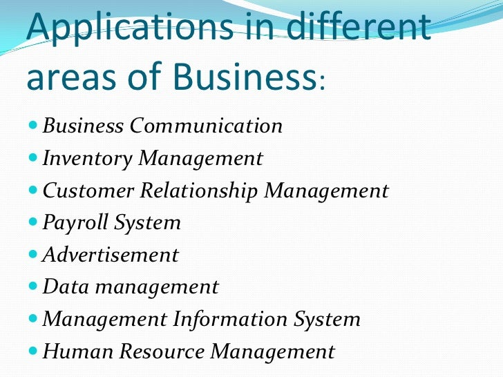 importance of information systems in business