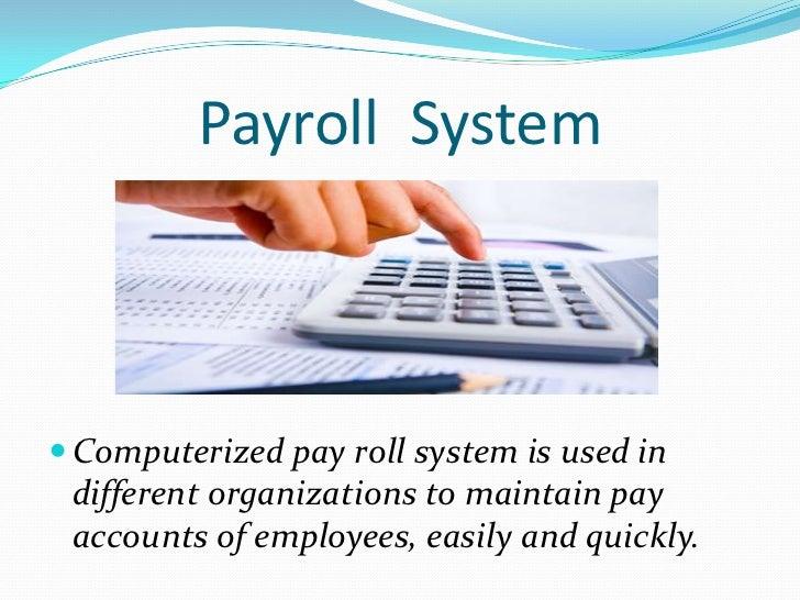 payroll system essay