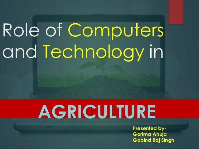 role of computer in information technology