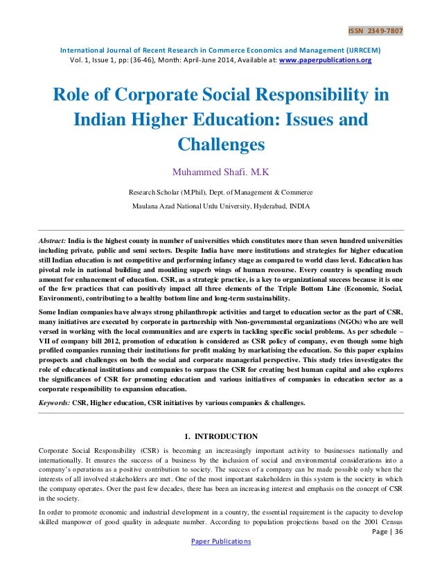 research papers on corporate governance in india