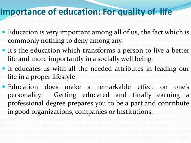 Six Manifest Functions Of Education