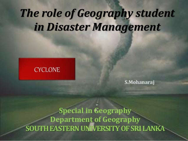 student s role in disaster management The role of education and knowledge in disaster risk reduction 44 28 teacher   venenzuela two schools collapsed in an earthquake and 46 students died.