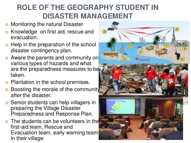role of students in managing earthquake Earthquake preparedness planning should aim at developing a  have the roles  and responsibilities of the students, teachers and headmasters been identified.