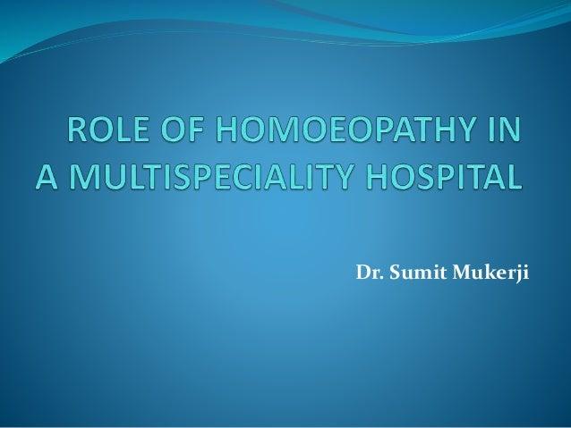 Dr. Sumit Mukerji