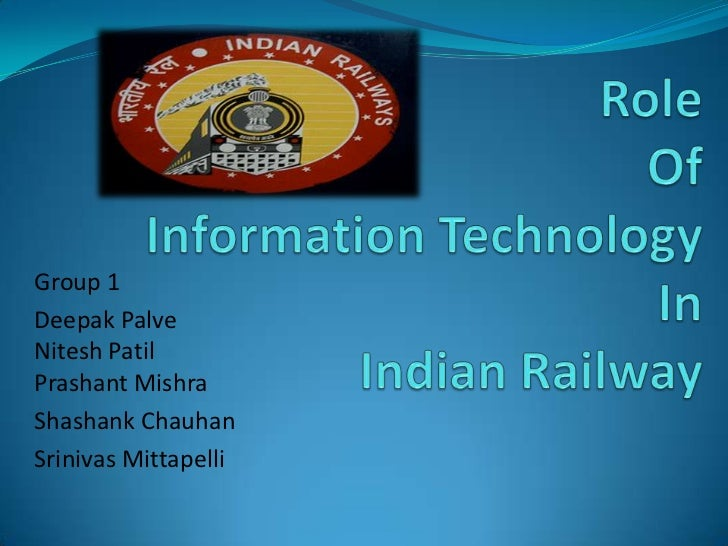 essay on role of information technology in india Science and technology has added essay on role of science and technology in essay on importance of technical education in india short essay on.