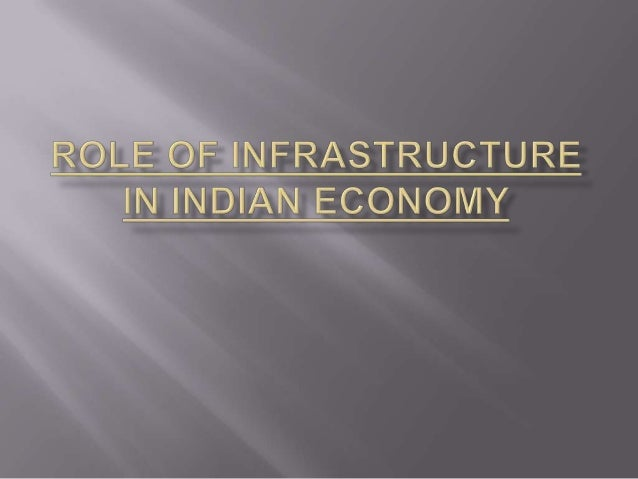 "   OECD defines as power, telecom, roads, and water    supply   In investment terms, it really constitutes    ""infrastru..."