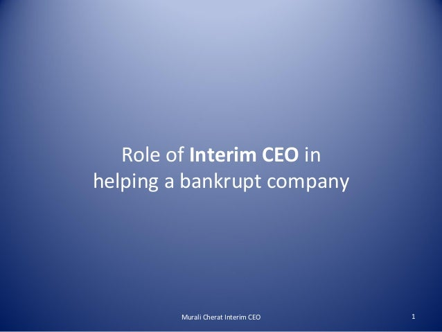 the role of a ceo in a company In larger organizations this role will extend right through to preparing  this area also encompasses the credit and collections policies for the company's.