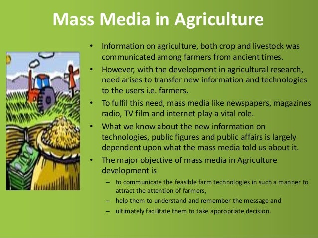 mass media and important role The role of the mass media in expanding the human very critical and important role in the economic the role of the mass media in promoting the nations.