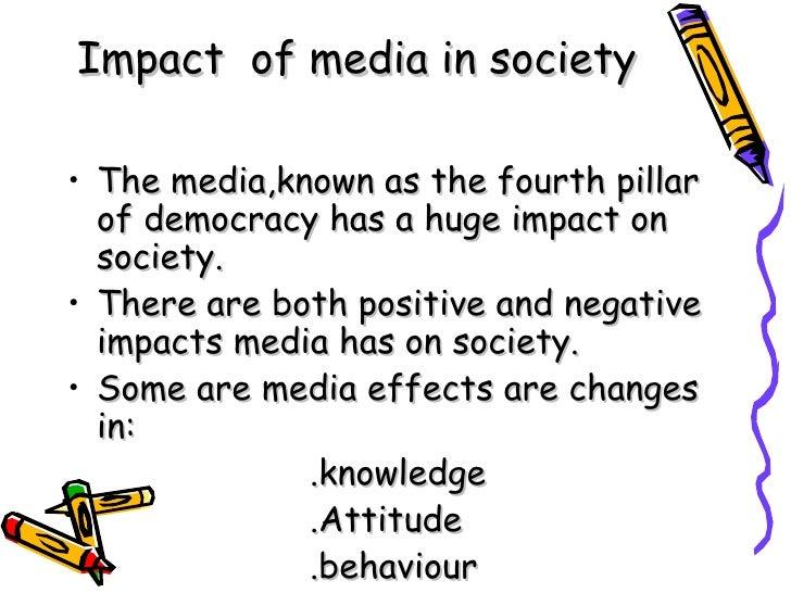 Essay influence of media