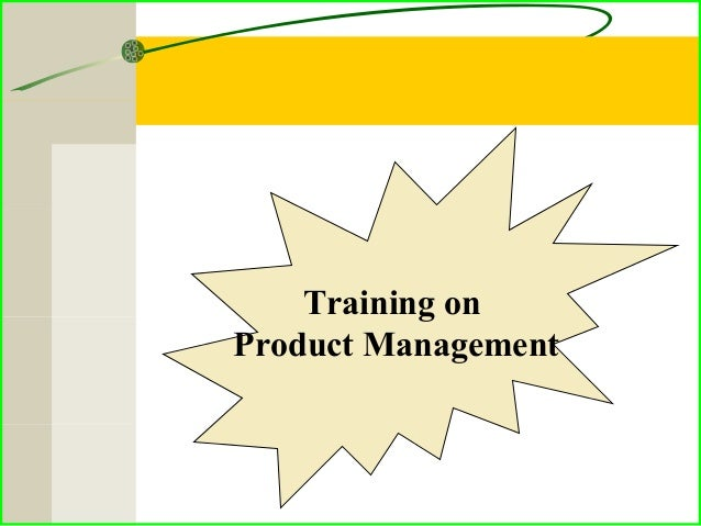Training on Product Management