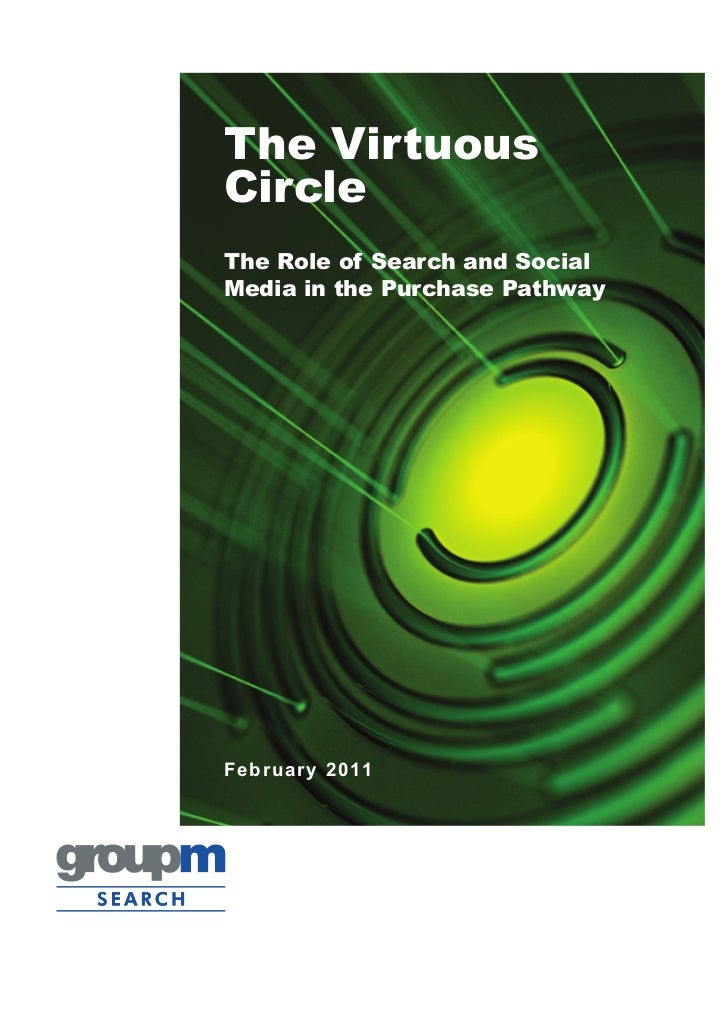 The VirtuousCircleThe Role of Search and SocialMedia in the Purchase PathwayFe br ua r y 20 11
