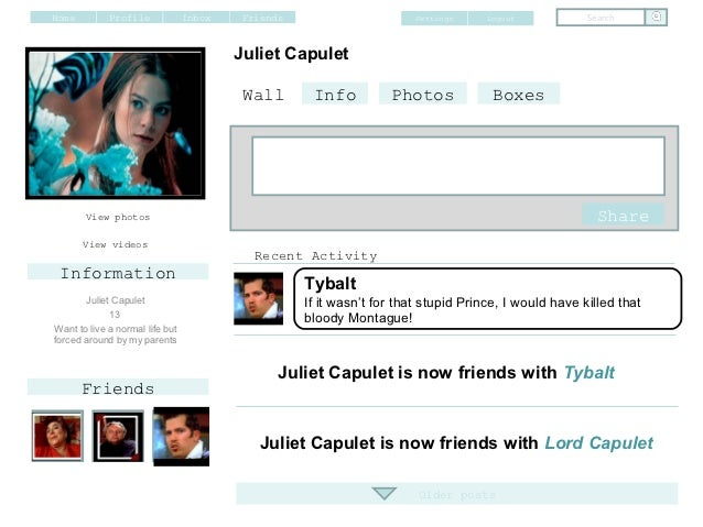 romeo and juliet online