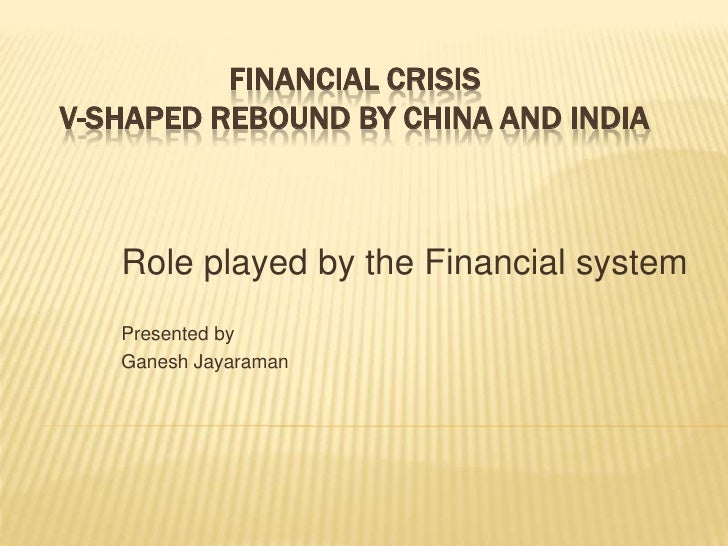 Role Played By Financial Systems Slideshare Version