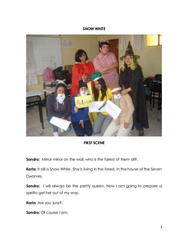 Role play snow white 4_th a