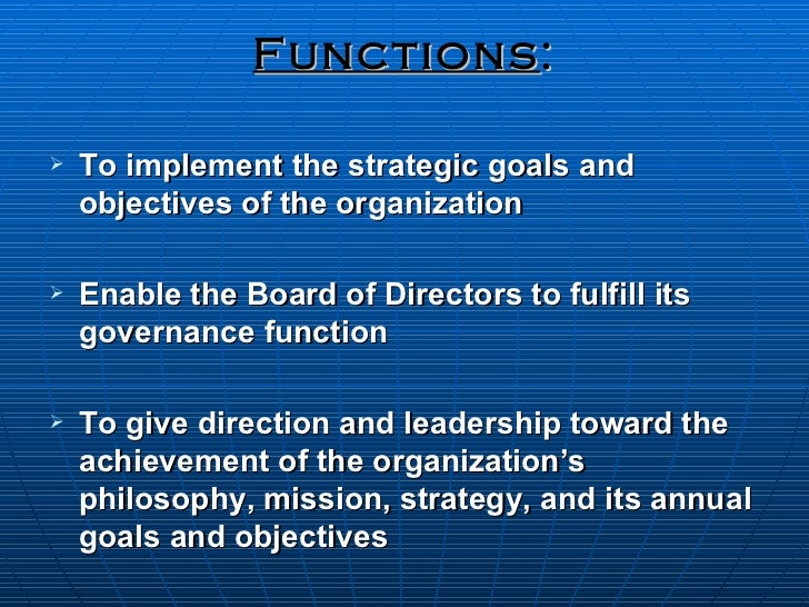 Board Roles and Responsibilities