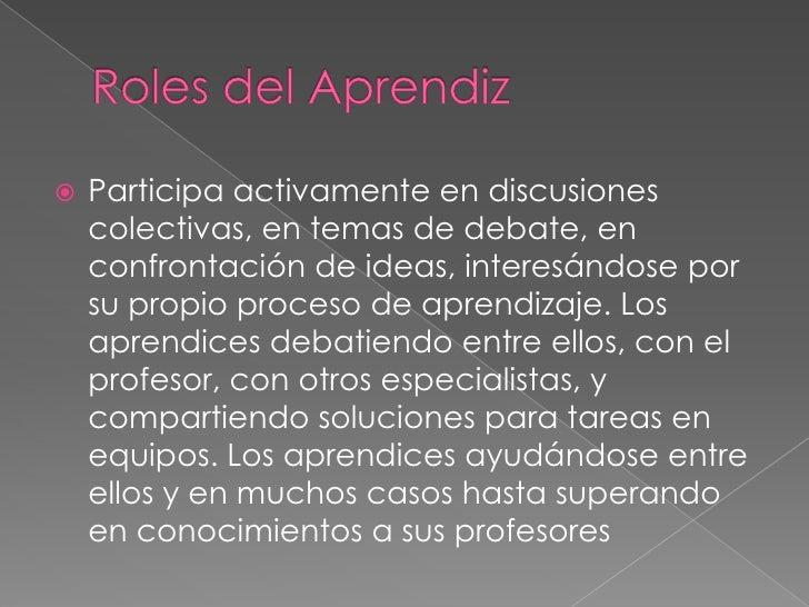 Roles Del Aprendiz Virtual