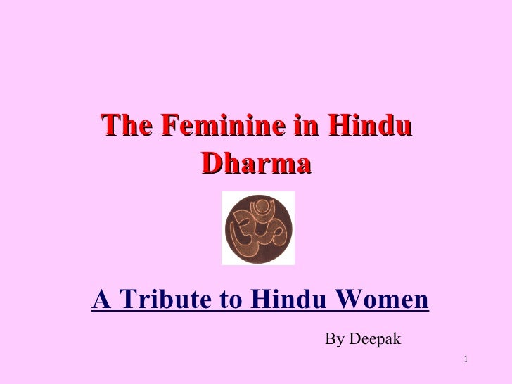 Roles of Hindu Women