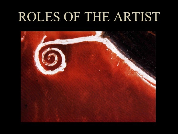 Roles of the Artist