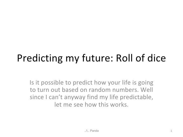Roll Of Dice