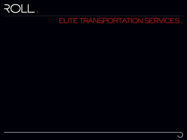 ELITE TRANSPORTATION SERVICES .