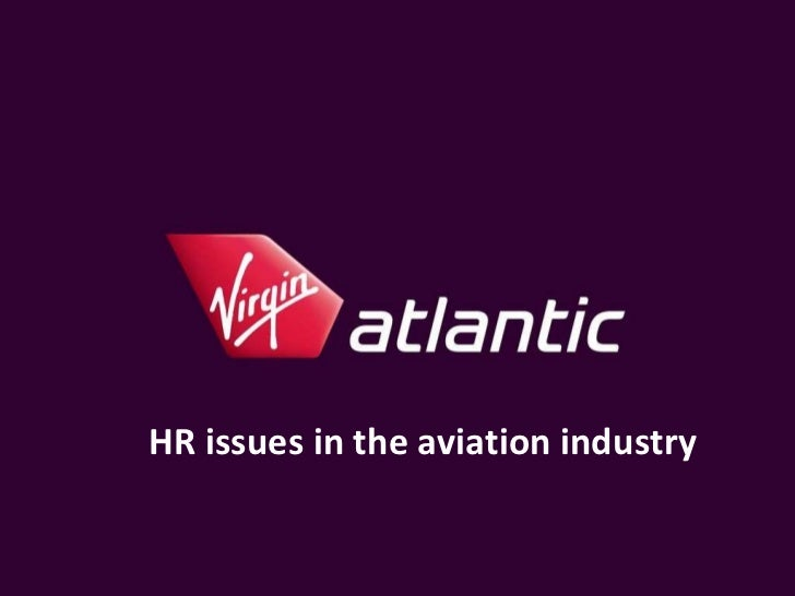 HR issues in the aviation industry