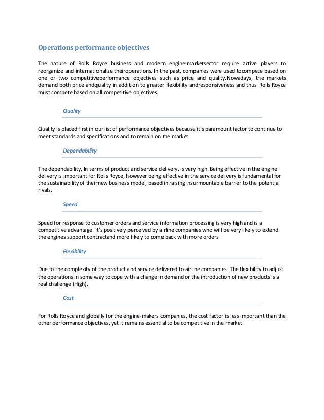 swot analysis rolls royce 2016-3-3 2 rolls-royce holdings plc annual report 2015 strategic report / group at a glance underlying revenue  with analysis of their markets.