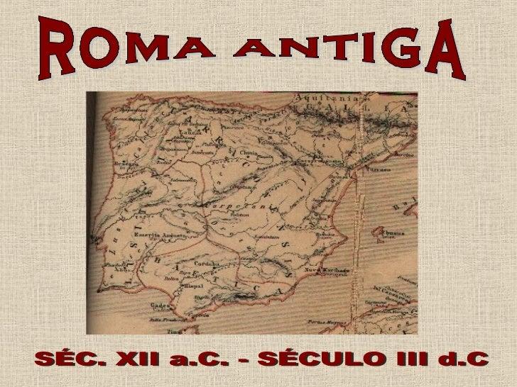 Roma está localizada na região do Lácio, na península itálica, a 25 quilômetros da fozdo rio Tibre, em sua margem esquerda...
