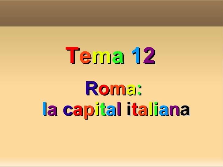 Roma   la capital de italia - manuela gabela moreno
