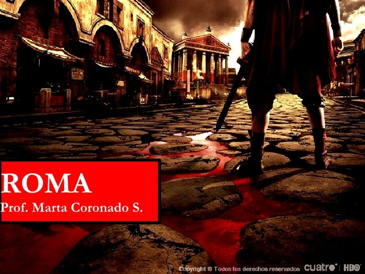 ROMA Prof. Marta Coronado S.