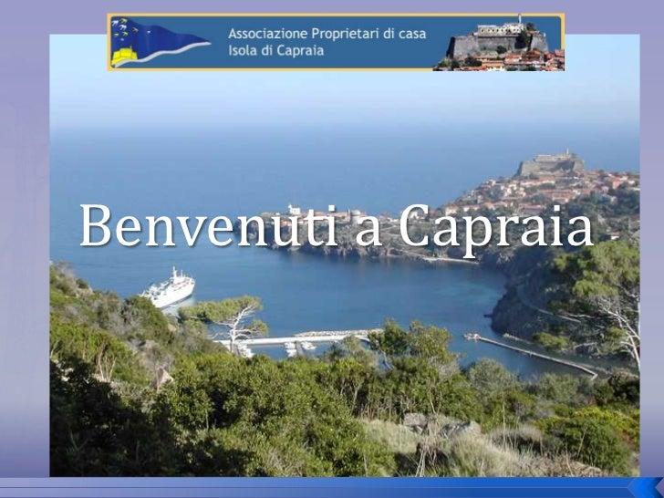 Benvenuti a Capraia