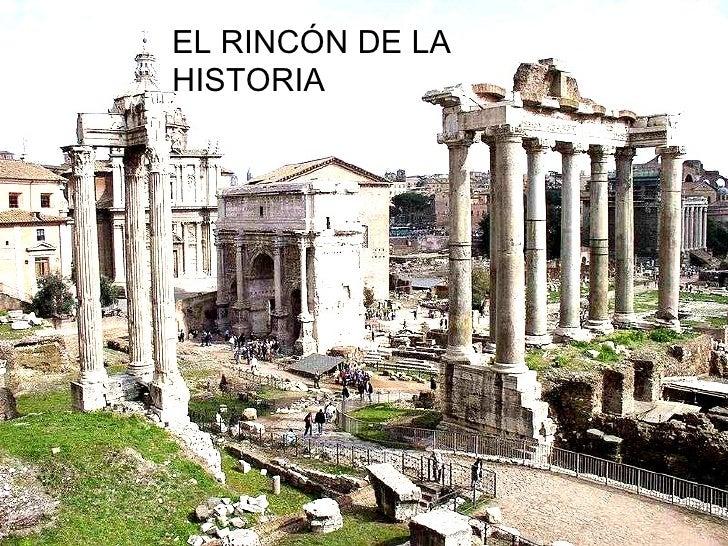 EL RINCÓN DE LA HISTORIA