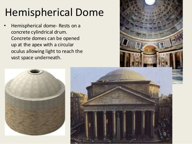 Gallery for gt hemispherical dome with oculus