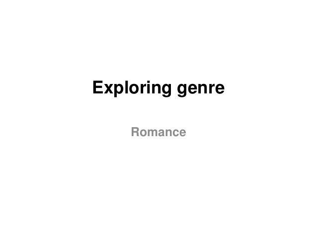 Exploring genre Romance