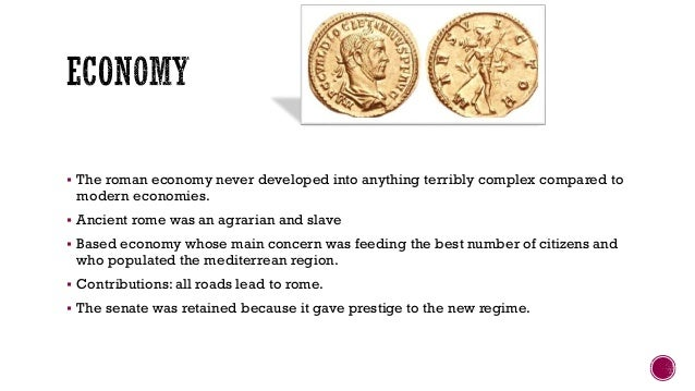 a reflection of the economy of the early roman empire Empire and development: the fall of the roman west  the roman empire stretched on one diagonal from  the entire vision of late-roman economic collapse.