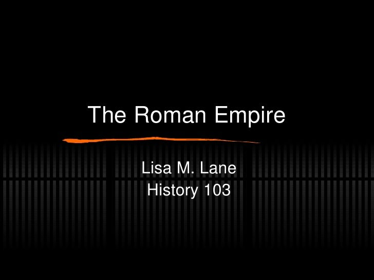 Roman Empire (Fall 2010)