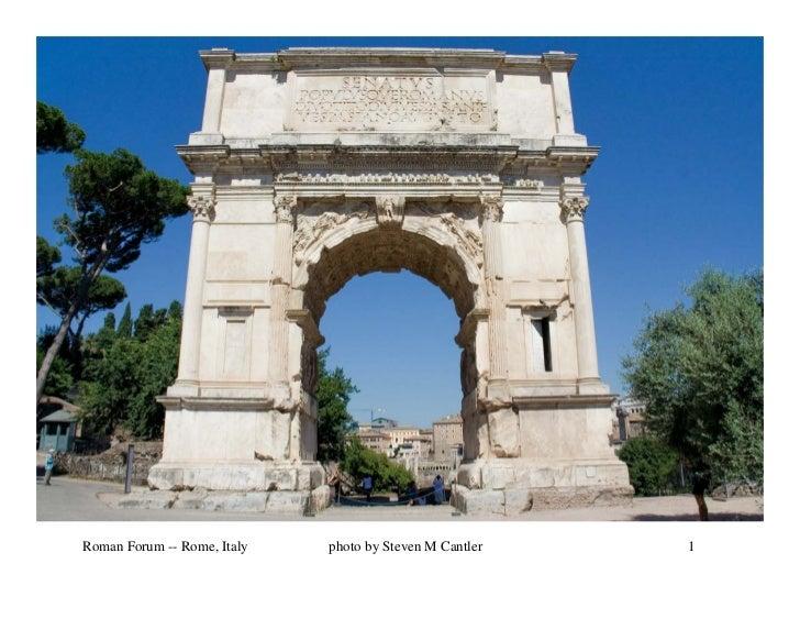 Roman Forum - Rome Italy