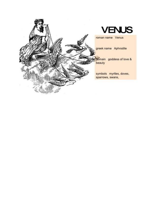 Roman god godesses venus ( from google.com ) .