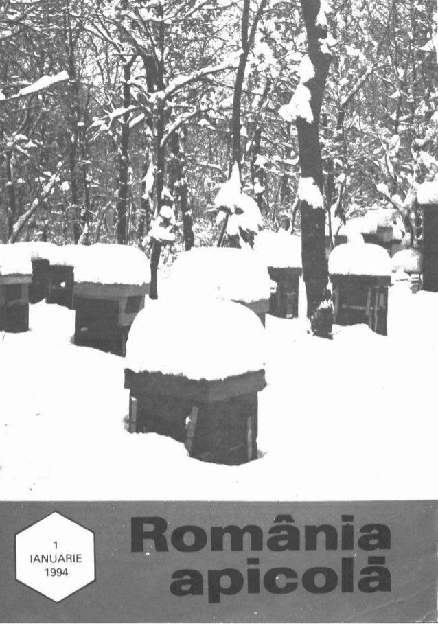 Romania apicolă-1994-nr-1-ianuarie