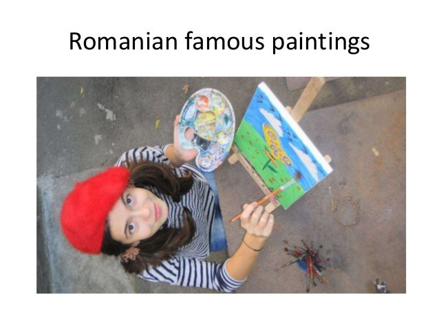 Romanian famous paintings